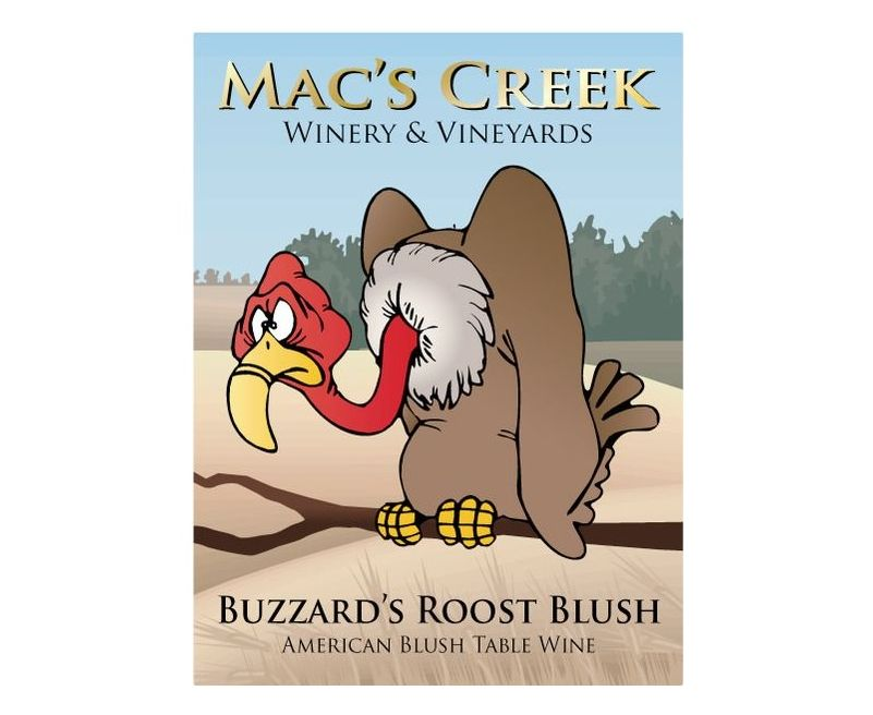 Mac's Creek's Buzzards Roost Blush Named #1 Blush Wine In The United States at the Florida International Wine Competition
