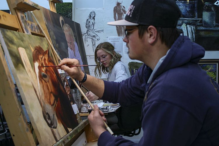 MCC art students to be featured in three area galleries
