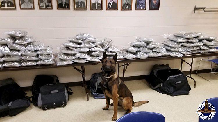 Troopers locate 126 LBs of Marijuana over weekend