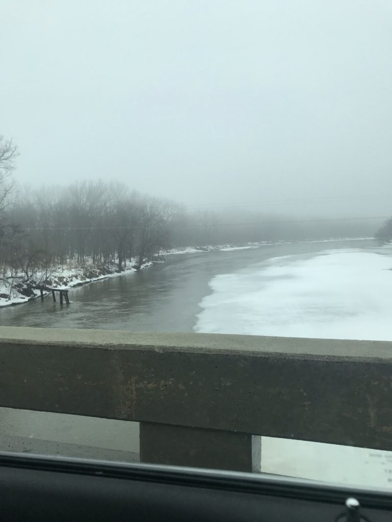 Elkhorn River Ice Jams Close 275