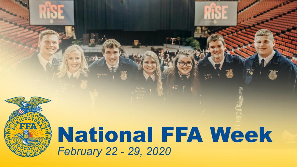 VIDEO: Celebrate National FFA Week Feb. 22 – 29