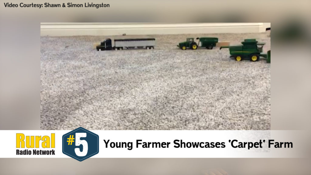 Young Farmer Showcases Carpet Farm – Friday Five (Feb. 21, 2020)