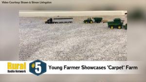 Young Farmer Showcases Carpet Farm - Friday Five (Feb. 21, 2020)