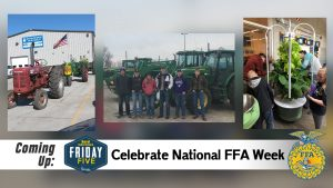 Celebrating National FFA Week - Friday Five (February 28, 2020)