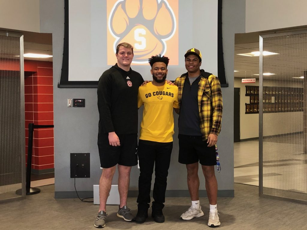 (Video) Big time trio at Scottsbluff to play sports at next level