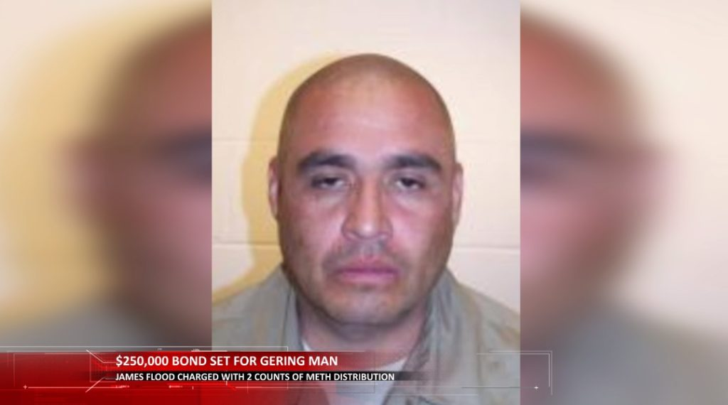 $250,000 Bond Set for Gering Man Charged With Meth Distribution
