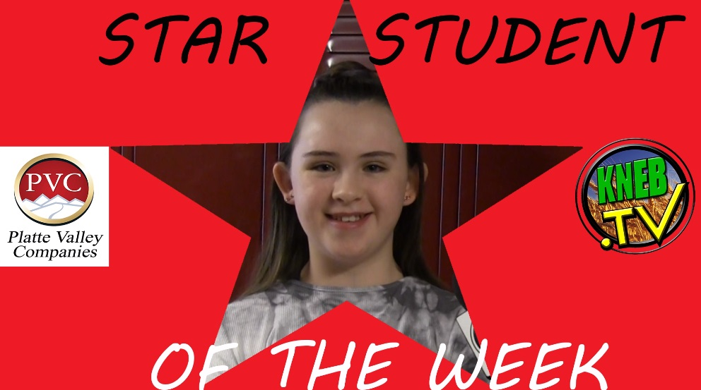 Scottsbluff 6th Grader Jayden Lindley Named PVC Star Student of the Week