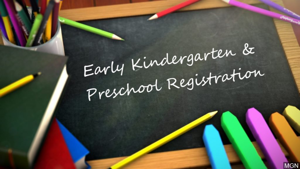 Early Registration Period Opens for Area Children Entering 2020-2021 Kindergarten, Pre-K