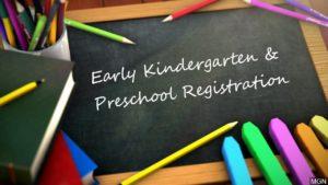Early Registration Period Opens for Area Children Entering 2020-2021 Kindergarten, Pre-K