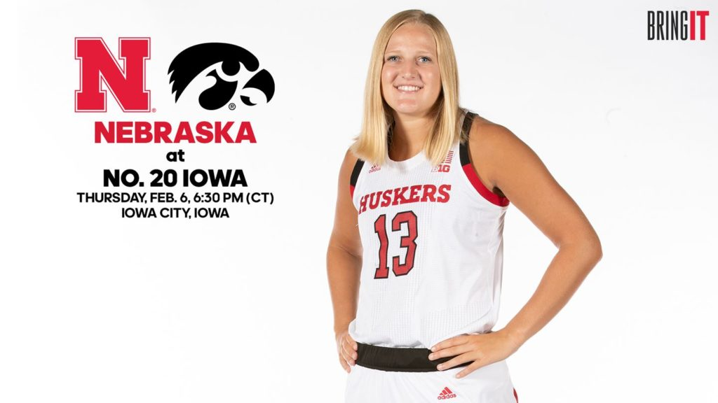 Huskers aim for upset at No. 20 Iowa