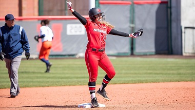 Husker Softball beats UTEP for first win of year
