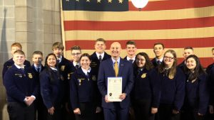 "VIDEO: Ricketts proclaims ""FFA Week"" in Nebraska"