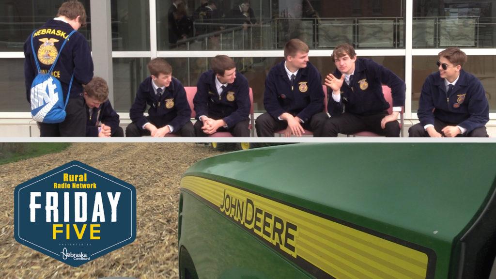Blue Corduroy, Green Tractors – Friday Five (Feb. 7, 2020)