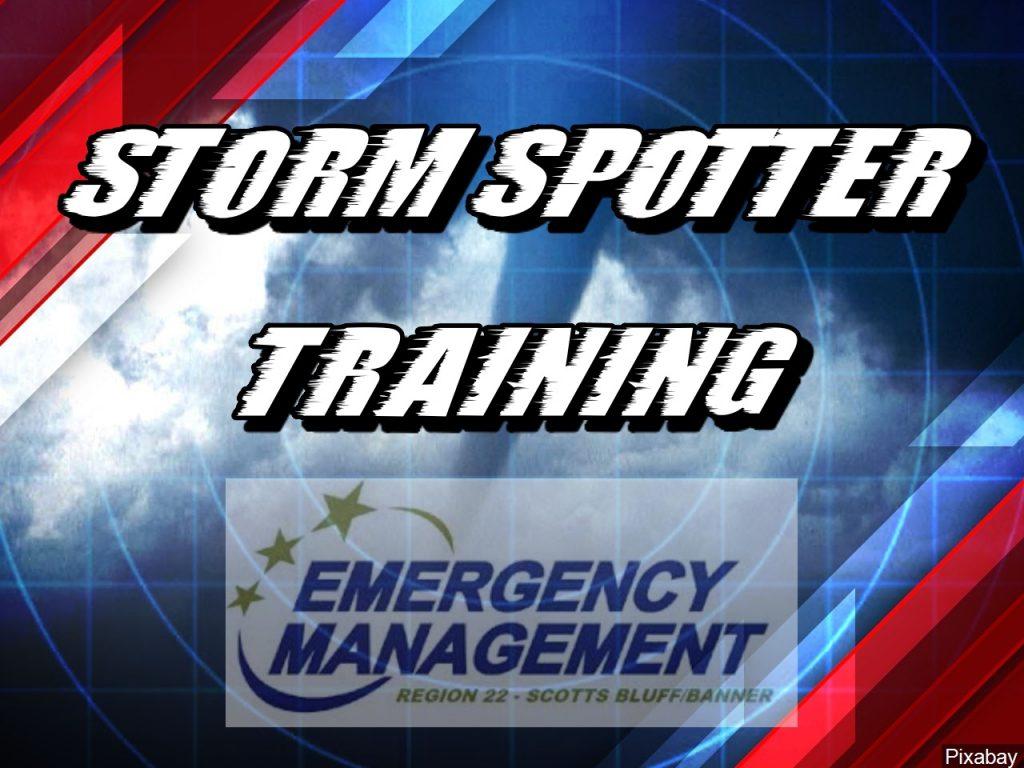 Region 22 Storm Spotter Class Scheduled