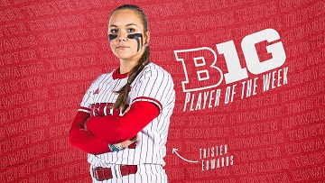 Edwards Named Big Ten Player of the Week