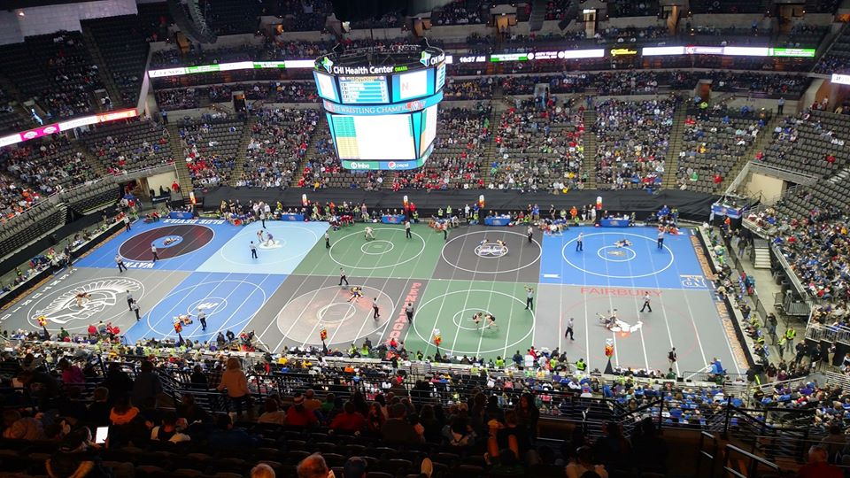 State Wrestling Third and Fifth Place Match Results
