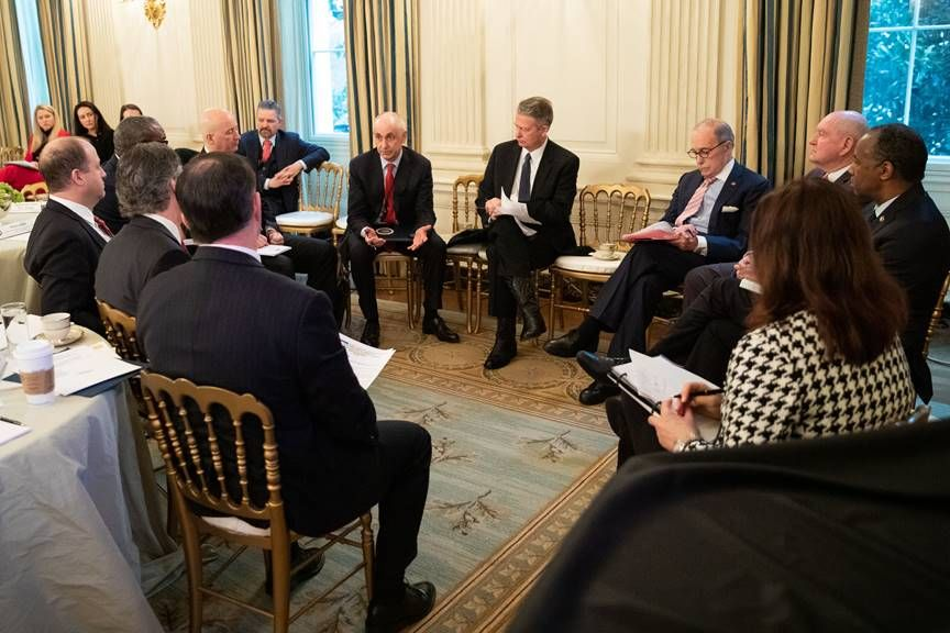 Gov. Ricketts Attends White House Roundtable on Broadband Connectivity