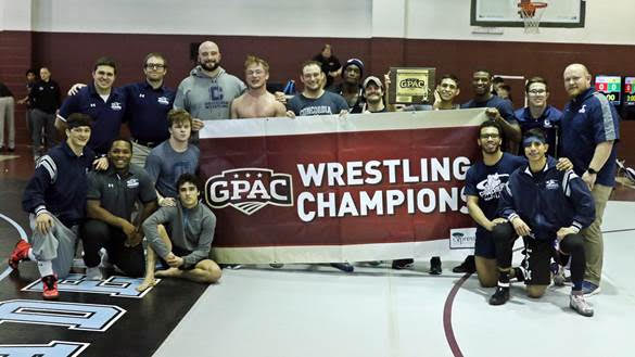 Three individual champs boost Bulldogs to GPAC tourney title