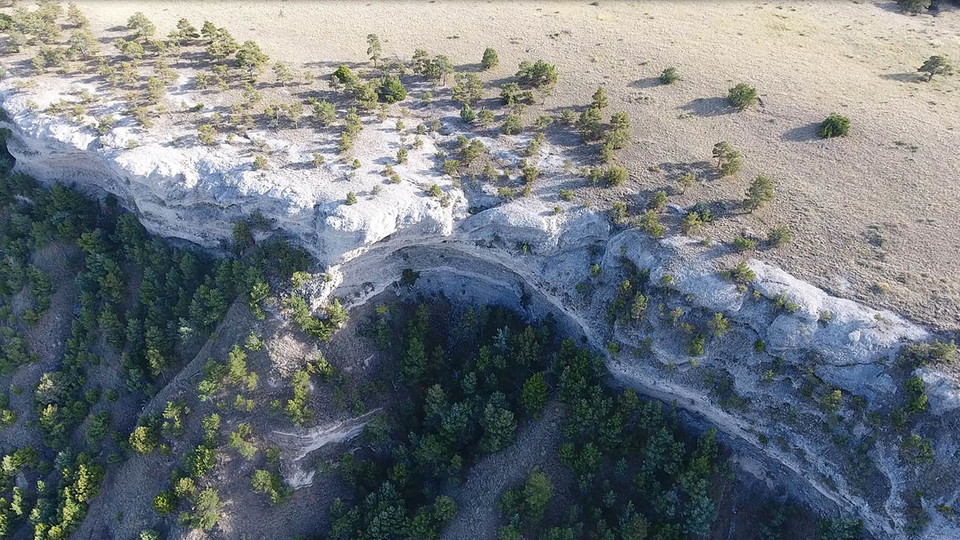 Ancient Flooding Formed, Left Behind Boulders in Wildcat Ridge
