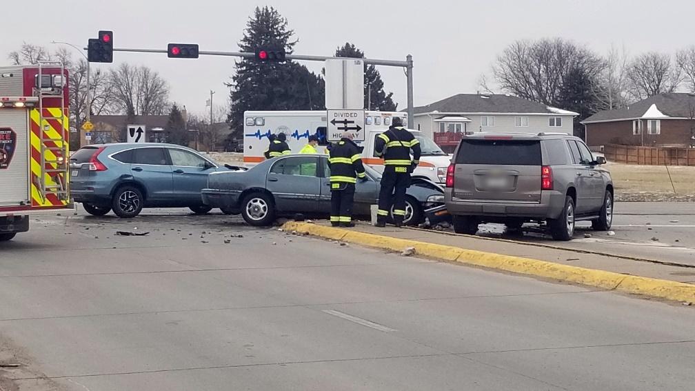 Two Injured In Three Vehicle Scottsbluff Collision