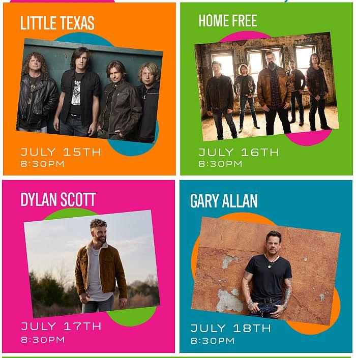 2020 Adams County Fairfest lineup announced!!
