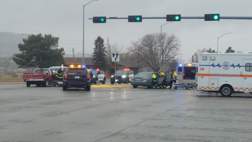 Three Sent to Hospital Following Three-Vehicle Accident in Scottsbluff