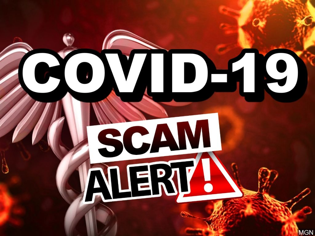 Lexington PD advises of COVID-19 related phone scam