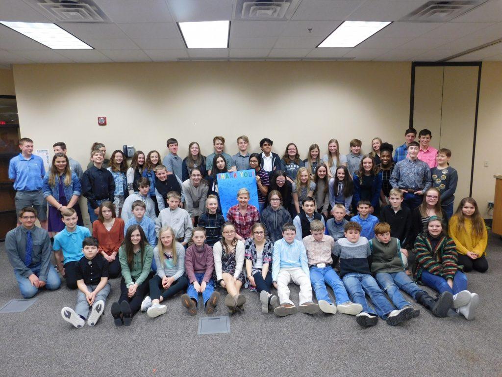 Panhandle Students Participate In Regional Science Fair