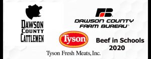 Dawson County Ag Groups Deliver Beef In Schools