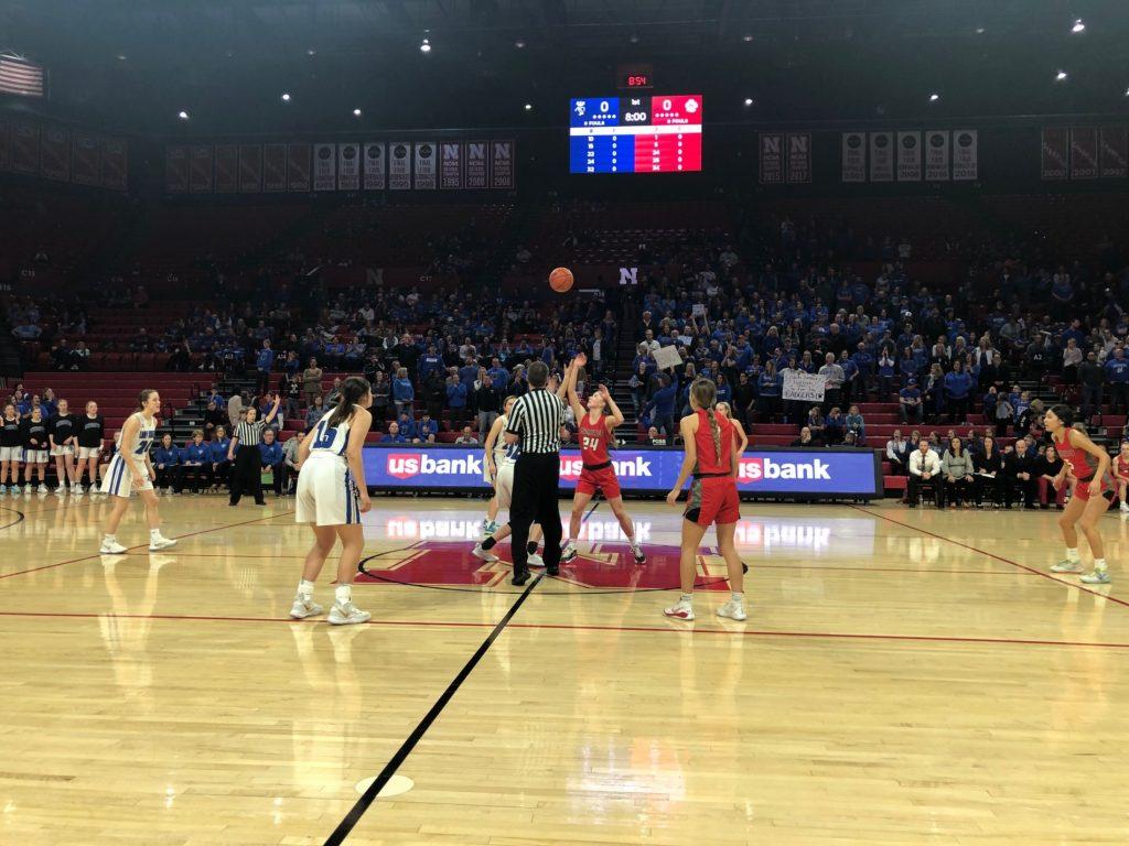Scottsbluff girls win first ever State Tournament game