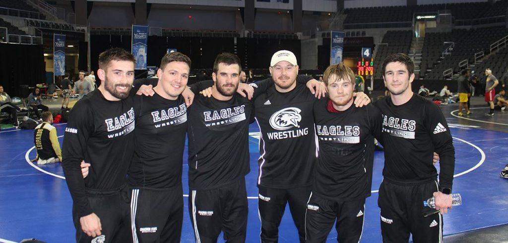 CSC wrestling season cut short, but had bright spots