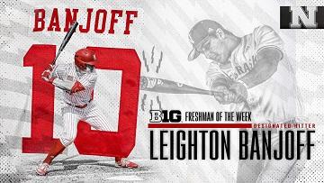 Banjoff Named Big Ten Freshman of the Week