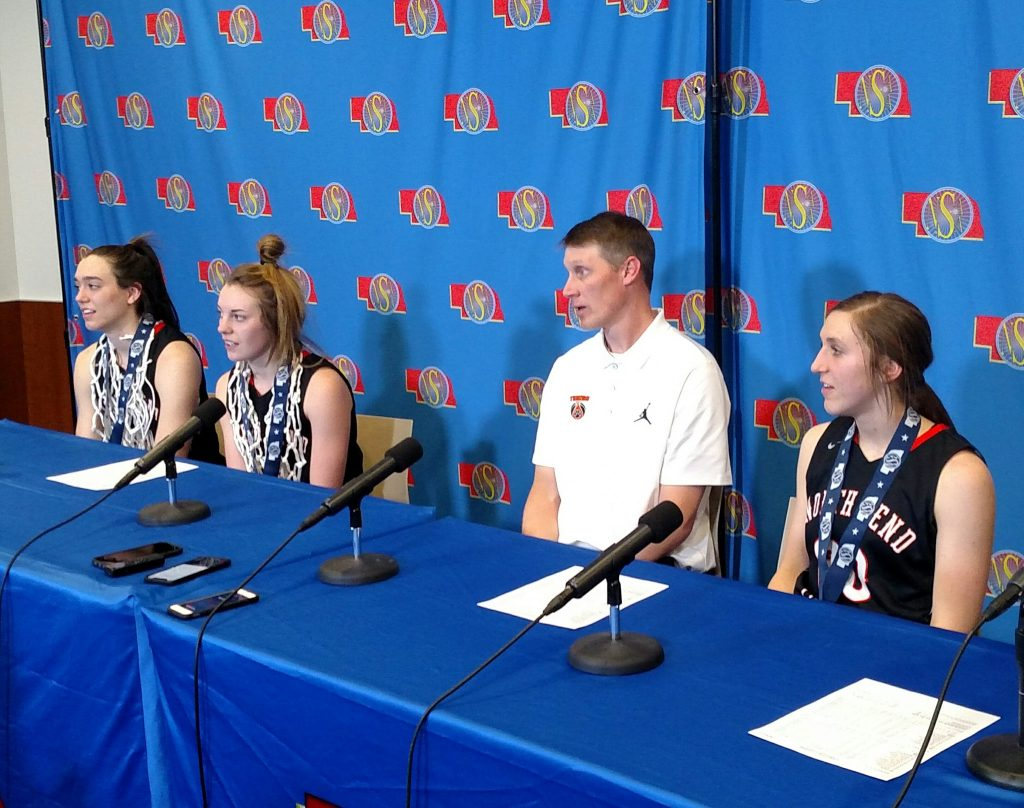 North Bend Girls Win C1 Basketball Title