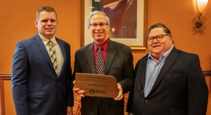 Plant Pathology Specialist Bruce Clarke Honored by the Nebraska Turfgrass Association