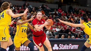 Husker Women lose to Michigan in Big Ten Tournament