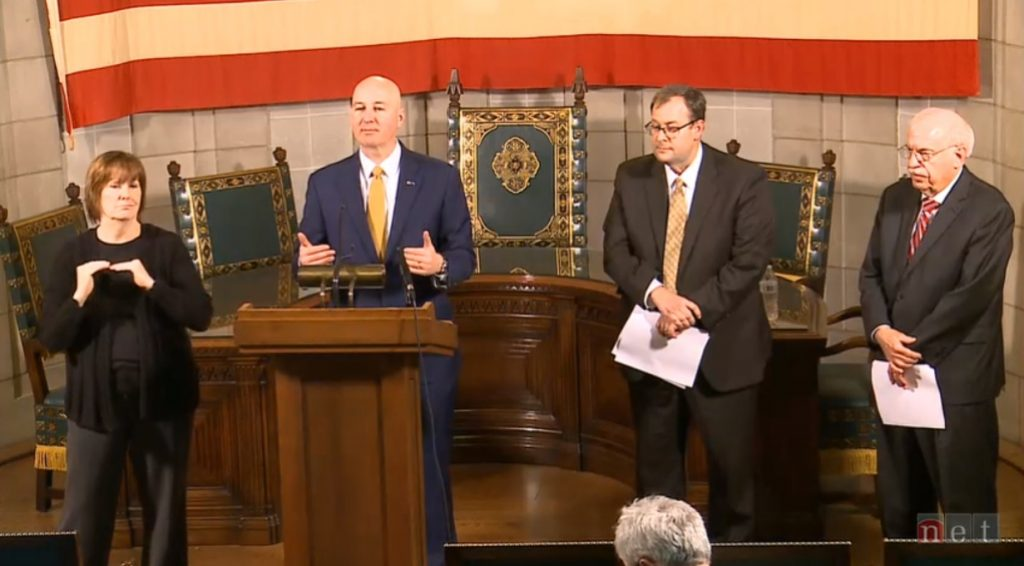 Gov. Ricketts: Four Eastern Nebraska Counties Now Under Directed Health Measures
