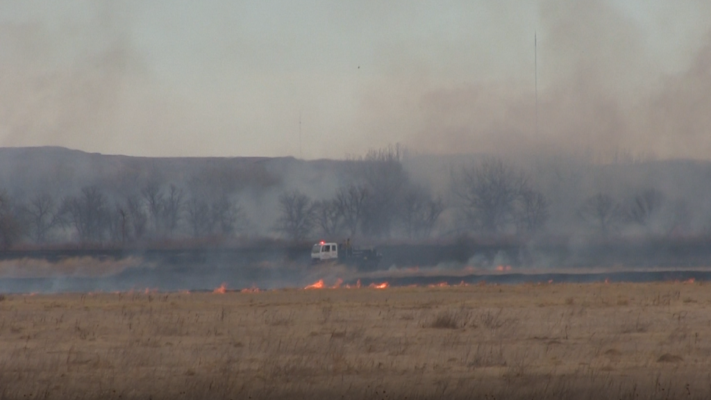 Firefighters Battle Morrill County Fires Wednesday Afternoon