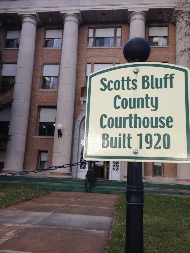 Scotts Bluff County Courthouse Limiting Access