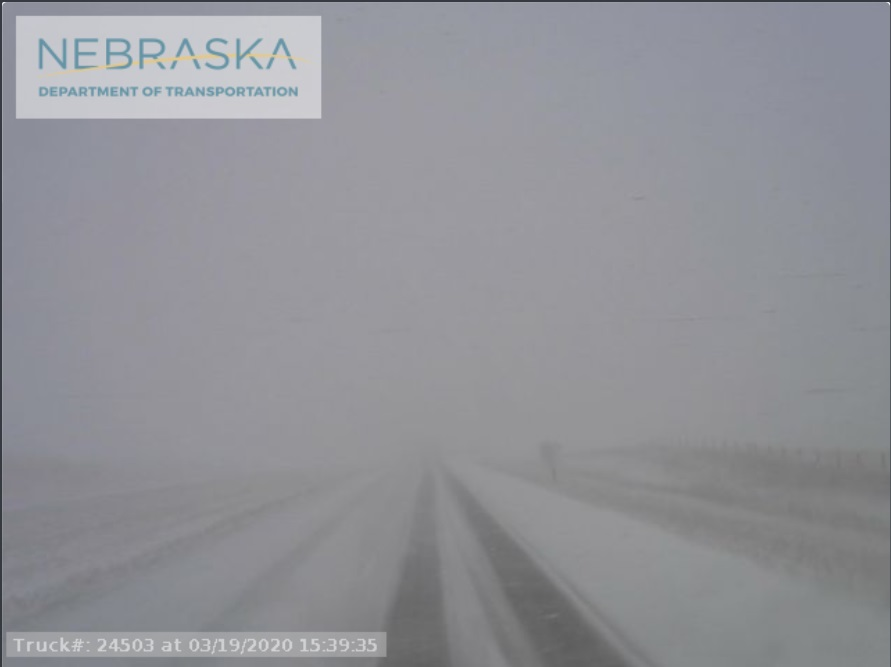 Winter Storm, Accidents Force Road Closures in Southern Nebraska Panhandle