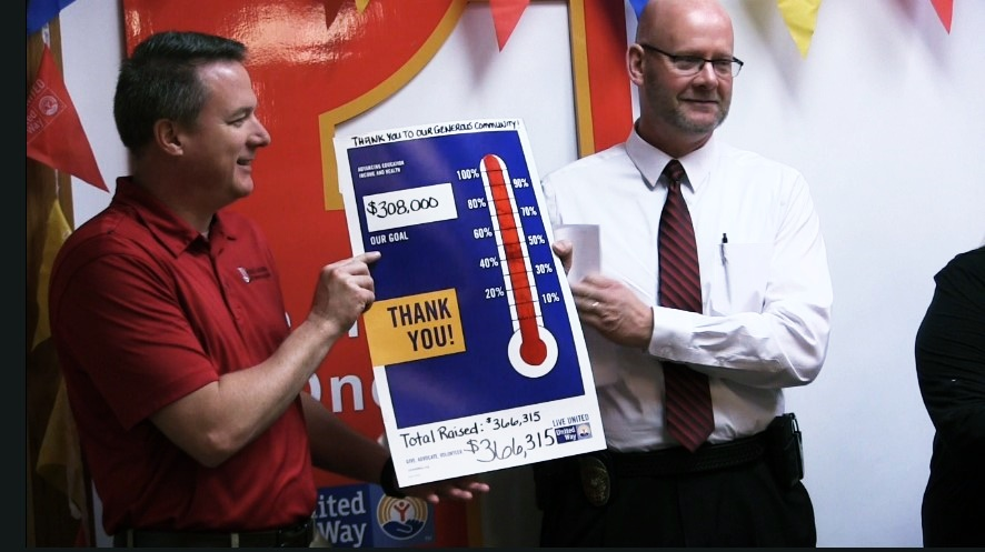 United Way Campaign Goal Surpassed by Over $58k