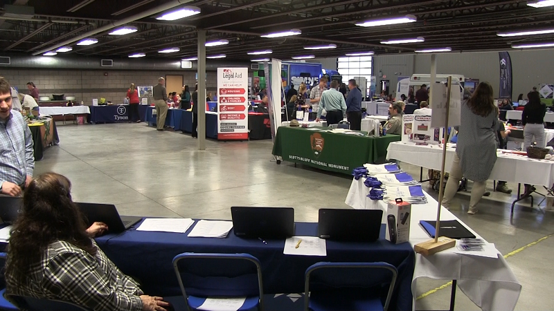 Prospective Employees, Businesses Get Together at WNCC Job and Internship Fair