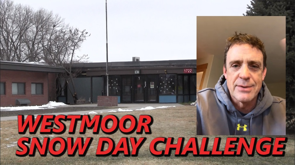 Westmoor Principal Issues Snow Day Challenge to Students