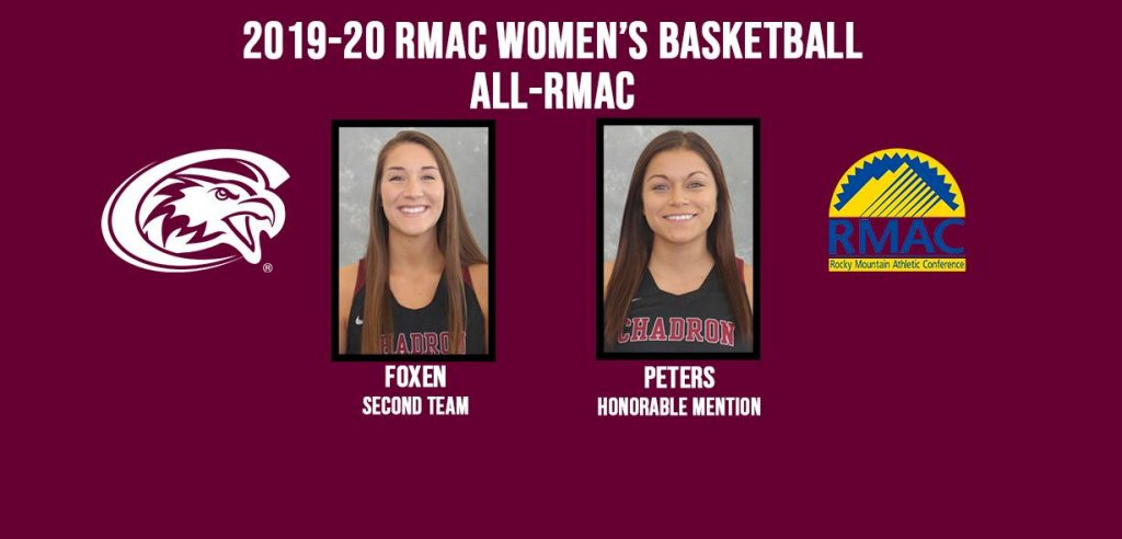 Foxen and Peters named to All-RMAC teams