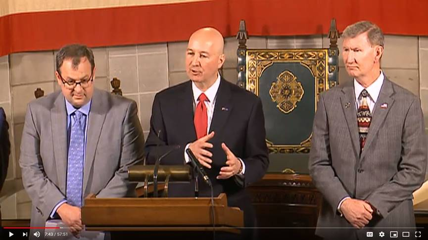 Gov. Ricketts Issues Guidance for School Closures, Leaders Provide COVID-19 Response Update