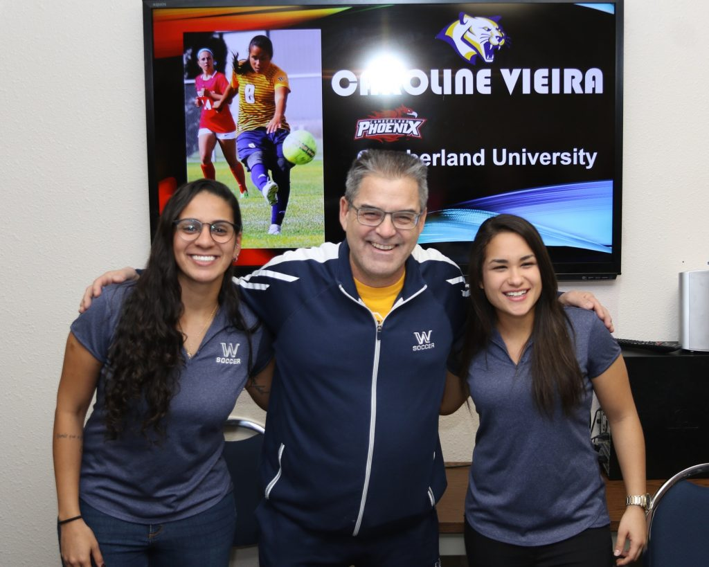 WNCC soccer players Passos, Vieira ink to continue playing