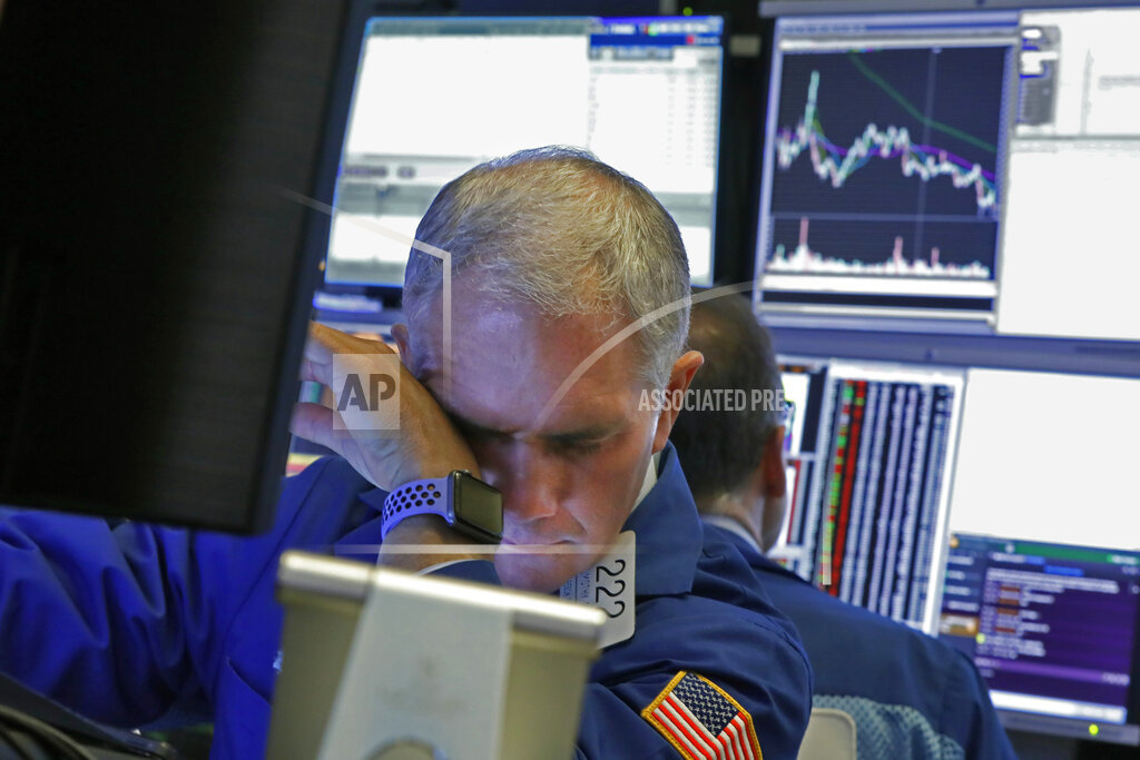 Stocks plummet amid coronavirus fears and oil-price crash