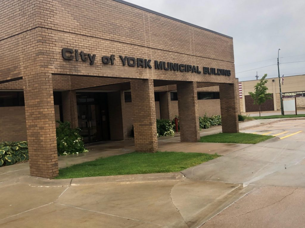 Local Disaster Declaration Signed By York Mayor