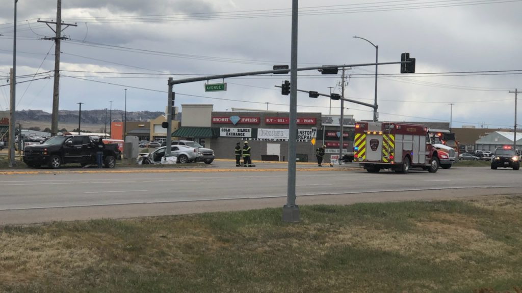 One Injured in Three-Vehicle Accident in Scottsbluff