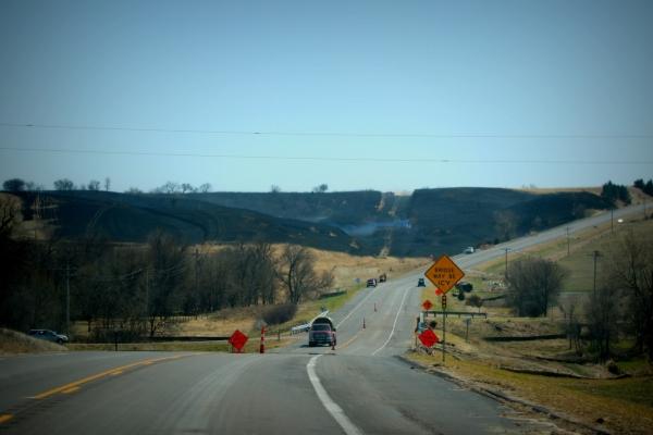 (Audio) Area firefighters battle range fire