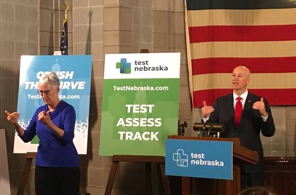 Ricketts Confident in TestNebraska program